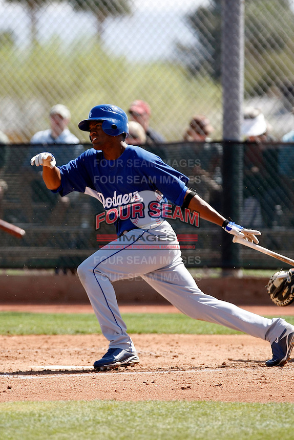 Alfredo Silverio - Los Angeles Dodgers - 2009 spring training.Photo by:  Bill Mitchell/Four Seam Images