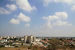 Israel, Southern Coastal Plain, a view of Yavne from Tel Yavne