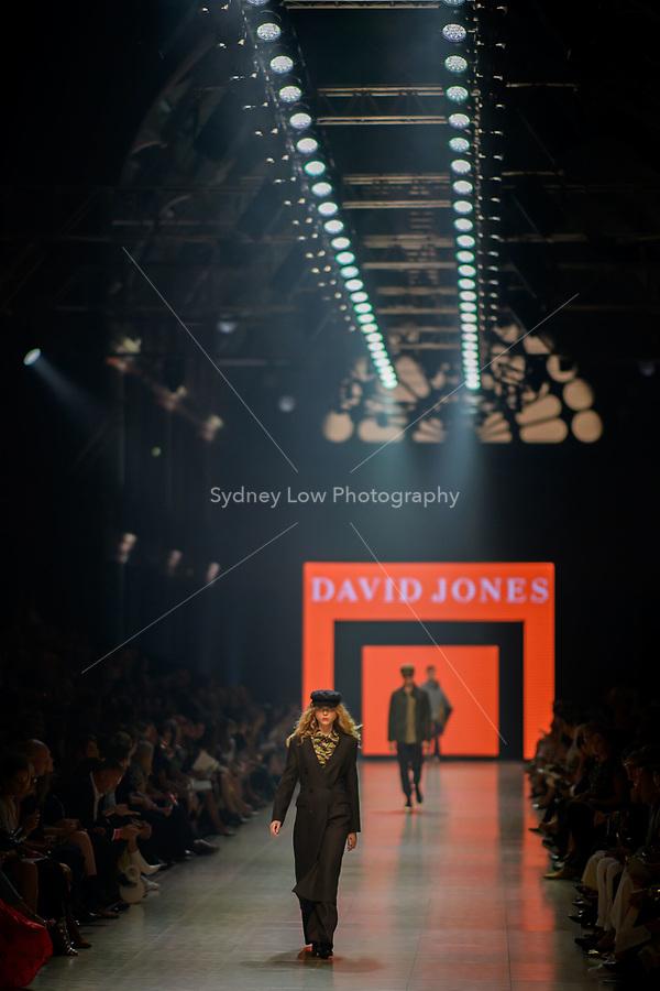 5 March 2018, Melbourne - Models showcase designs during the Gala Runway show at the 2018 Virgin Australia Melbourne Fashion Festival in Melbourne, Australia. (Photo Sydney Low / asteriskimages.com)