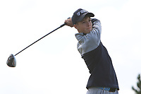 Evan Shipp (Headfort) on the 14th tee during the Final round in the Connacht U16 Boys Open 2018 at the Gort Golf Club, Gort, Galway, Ireland on Wednesday 8th August 2018.<br /> Picture: Thos Caffrey / Golffile<br /> <br /> All photo usage must carry mandatory copyright credit (&copy; Golffile   Thos Caffrey)