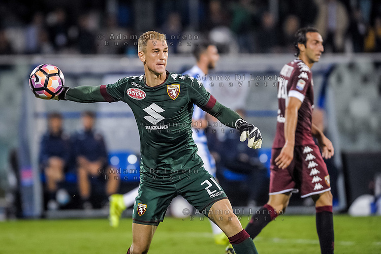 Joe Hart (Torino) during the Italian Serie A football match Pescara vs Torino on September 21, 2016, in Pescara, Italy. Photo di Adamo Di Loreto/BuenaVista*photo