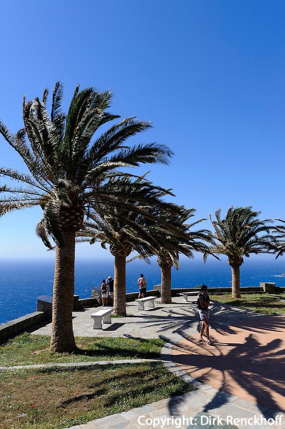 beim Glockenturm in Canari auf Cap Corse, Korsika, Frankreich