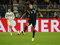 Leandro Parades (Argentinien, Argentina) - 09.10.2019: Deutschland vs. Argentinien, Signal Iduna Park, Freunschaftsspiel<br /> DISCLAIMER: DFB regulations prohibit any use of photographs as image sequences and/or quasi-video.