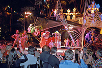 Dancers on Stage, Tropicana  Cabaret Club Havana Cuba, Republic of Cuba,