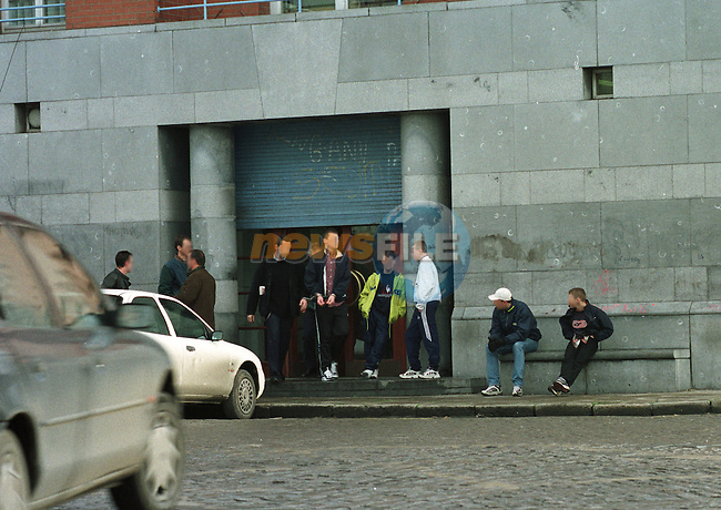 the Juvinial Court in Dublin, with a young prisioner being taken out..Pic/Byline Fran Caffrey
