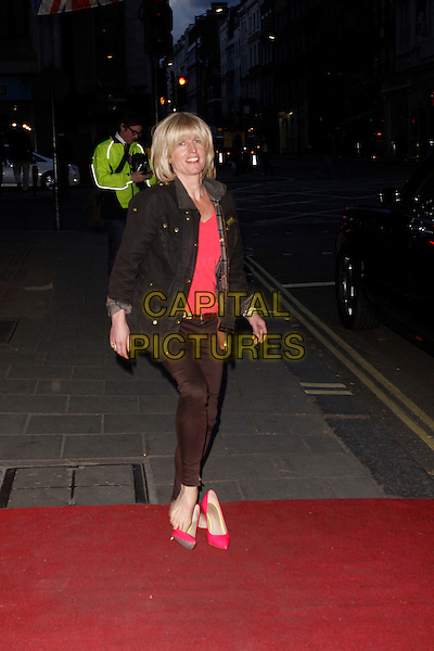 LONDON, ENGLAND - APRIL 28 :  Rachel Johnson arrives at the Tatler Best of British - party at The Ritz on April 28, 2015 in London, England.<br /> CAP/AH<br /> &copy;Adam Houghton/Capital Pictures