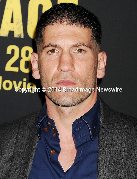 Pictured: Jon Bernthal<br /> Mandatory Credit &copy; Joseph Gotfriedy/Broadimage<br /> &quot;Sabotage&quot; - Los Angeles Premiere - Arrivals<br /> <br /> 3/19/14, Los Angeles, California, United States of America<br /> <br /> Broadimage Newswire<br /> Los Angeles 1+  (310) 301-1027<br /> New York      1+  (646) 827-9134<br /> sales@broadimage.com<br /> http://www.broadimage.com
