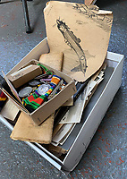 BNPS.co.uk (01202 558833)<br /> Pic:  DavidLay/BNPS.<br /> <br /> Bomber command heroes WW2 exploits discovered in a shoebox.<br /> <br /> The personal effects of a fearless 'Tail-end Charlie' have been discovered in a shoebox - and they include a charming set of photos of his wartime service.<br /> <br /> Flight Sergeant Douglas Alexander, of 460 Squadron, took part in nearly 40 bombing raids over Germany, including the famous assault on Hitler's mountain retreat, Berchtesgaden.<br /> <br /> As a tail gunner, he sat in a tiny glass turret at the rear of Lancaster and Halifax bombers - a terribly exposed position.<br /> <br /> The shoebox, containing his bravery medals, logbooks and photos, was bought into auctioneer David Lay Frics, of Penzance, Cornwall, by his daughter.<br /> <br /> Flt Sgt Alexander's medal group includes the prestigious Distinguished Flying Medal, awarded for 'exceptional valour, courage and devotion to duty', with his photos capturing the camarederie which existed in the RAF as the airmen risked their lives on every mission to defeat Adolf Hitler.