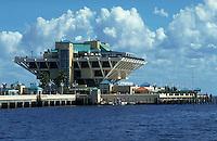 The Pier on Tampa Bay, Florida's Gulf Coast. St. Petersburg, Florida.