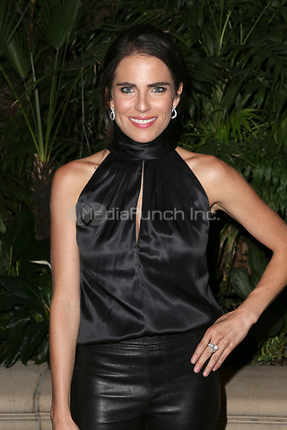 LOS ANGELES, CA - NOVEMBER 8: Karla Souza at the Eva Longoria Foundation Dinner Gala honoring Zoe Saldaña and Gina Rodriguez at The Four Seasons Beverly Hills in Los Angeles, California on November 8, 2018. Credit: Faye Sadou/MediaPunch