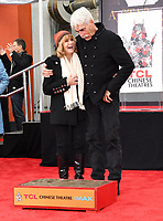 07 January 2019 - Hollywood, California - Katharine Ross, Sam Elliott . Sam Elliott Hand And Footprint Ceremony held at TCL Chinese Theatre. Photo Credit: Birdie Thompson/AdMedia