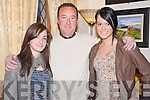 Ashley, Humphrey and Tracy Kerins, Killarney, pictured at the Niall Mellon fundraiser held in Darby O'Gills hotel, Killarney on Saturday night.