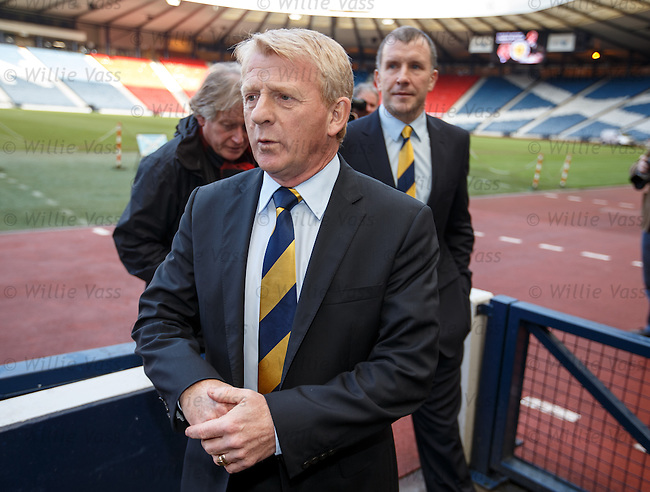 Gordon Strachan is appointed as the new Scotland manager.