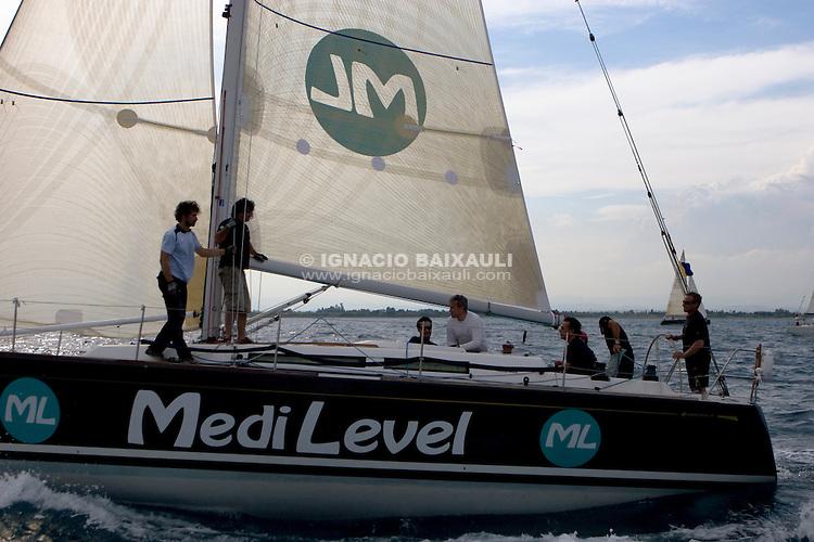 ESP7625 .TANIT IV MEDILEVEL .MARIA JOSÉ VILA VALERO .JOSE IGNACIO CAMPOS .R.C.R. Alicante .XIII Regata Costa Azahar - 25 al 28 de Junio 2009, Real Club Náutico de Castellón