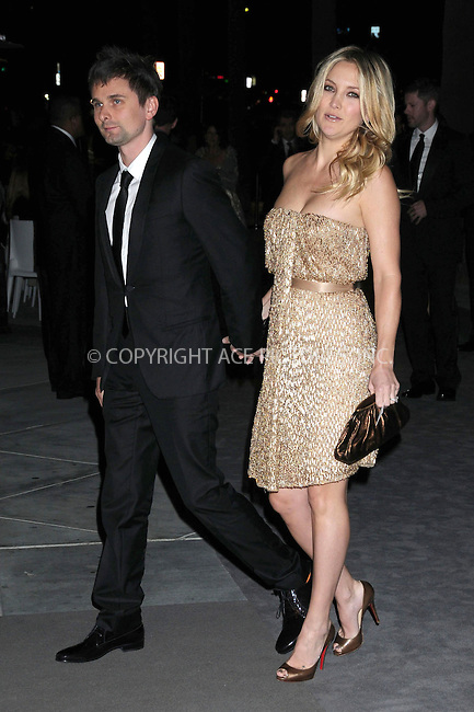 WWW.ACEPIXS.COM . . . . .  ..... . . . . US SALES ONLY . . . . .....November 5 2011, LA....Matt Bellamy of Muse and Kate Hudson arriving at the LACMA Art and Film Gala honouring Clint Eastwood and John Baldessari presented by Gucci held at the LACMA Museum on November 5 2011in Los Angeles ....Please byline: FAMOUS-ACE PICTURES... . . . .  ....Ace Pictures, Inc:  ..Tel: (212) 243-8787..e-mail: info@acepixs.com..web: http://www.acepixs.com