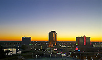 WUS- Shreveport & Bossier Cityscape at Sunrise, Shreveport LA 10 13