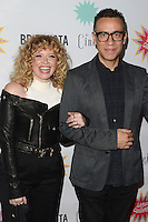 LOS ANGELES, CA - AUGUST 21: Natasha Lyonne and Fred Armisen at the Premiere Of IFC Midnight's 'Antibirth' at Cinefamily on August 21, 2016 in Los Angeles, California. Credit: David Edwards/MediaPunch