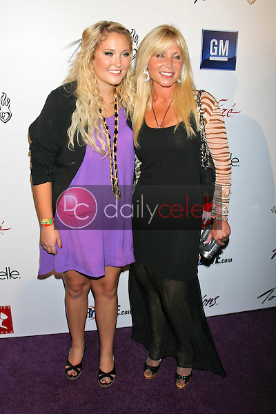 Hayley Hasselhoff and Pamela Bach<br />