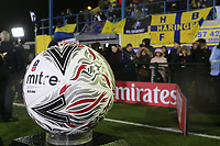 Ball and view of the stand during Haringey Borough vs AFC Wimbledon, Emirates FA Cup Football at Coles Park Stadium on 9th November 2018
