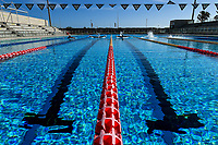 Italian swimmers during a training session. <br /> Italian athletes were able to resume training last week after more than 50 days of lockdown due to the coronavirus (covid-19) pandemic <br /> Roma 12-5-2020 Centro Federale di Ostia <br /> Photo Andrea Staccioli / Deepbluemedia / Insidefoto