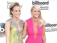 LAS VEGAS, NV - May 18 : Carrie Underwood and Miranda Lambert pictured at 2014 Billboard Music Awards at MGM Grand in Las Vegas, NV on May 18, 2014. © Kabik/ Starlitepics