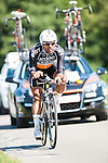 SITTARD, NETHERLANDS - AUGUST 16: Danilo Napolitano of Italy riding for Accent Jobs-Wanty competes during stage 5 of the Eneco Tour 2013, a 13km individual time trial from Sittard to Geleen, on August 16, 2013 in Sittard, Netherlands. (Photo by Dirk Markgraf/www.265-images.com)