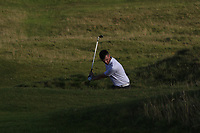 Senan Carroll (Ballybunion) on the 15th fairway during the Munster Final of the AIG Senior Cup at Tralee Golf Club, Tralee, Co Kerry. 12/08/2017<br /> <br /> Picture: Golffile | Thos Caffrey<br /> <br /> All photo usage must carry mandatory copyright credit     (&copy; Golffile | Thos Caffrey)