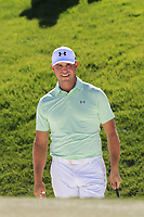 Gary Woodland (USA) in a bunker at the 6th green during Saturday's Round 3 of the Waste Management Phoenix Open 2018 held on the TPC Scottsdale Stadium Course, Scottsdale, Arizona, USA. 3rd February 2018.<br /> Picture: Eoin Clarke | Golffile<br /> <br /> <br /> All photos usage must carry mandatory copyright credit (&copy; Golffile | Eoin Clarke)