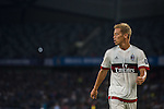 Keisuke Honda of AC Milan looks on during the AC Milan vs FC Internazionale Milano as part of the International Champions Cup 2015 at the Longgang Stadium on 25 July 2015 in Shenzhen, China. Photo by Aitor Alcalde / Power Sport Images