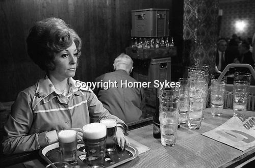 Byker Working Mens Club, Byker Newcastle upon Tyne. 1970s UK. ..
