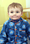 Aidan at the Pyjama Day in Mornington Pre-School in aid of the Haiti earthquake victims...Photo NEWSFILE/Jenny Matthews.(Photo credit should read Jenny Matthews/NEWSFILE)....This Picture has been sent you under the condtions enclosed by:.Newsfile Ltd..The Studio,.Millmount Abbey,.Drogheda,.Co Meath..Ireland..Tel: +353(0)41-9871240.Fax: +353(0)41-9871260.GSM: +353(0)86-2500958.email: pictures@newsfile.ie.www.newsfile.ie.FTP: 193.120.102.198.