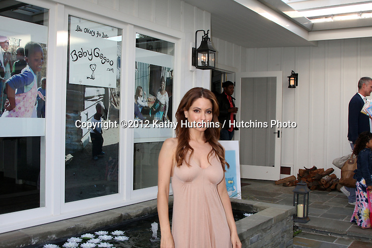"LOS ANGELES - APR 28:  Lisa LoCicero at the Launch of ""Baby Gagoo"" Clothing Line by Vanessa Marcil-Giovinazzo at private home on April 28, 2012 in Malibu, CA"