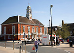 Town Hall built in 1920s at Braintree, Essex, England