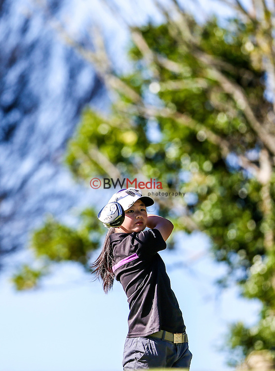 Juliana Hung during the Barfoot and Thompson Charles Tour, Akarana Open, Akarana Golf Club, Auckland, Friday 15  April 2016. Photo: Simon Watts/www.bwmedia.co.nz