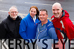 Some of the Kerry's Eye International Marathon volunteers, from left: Martin Brosnan, Anne O'Shea, Jim McNiece and Ed O'Connor.