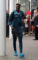 Tammy Abraham of Swansea City arrives prior to the game during the Premier League match between Southampton and Swansea City at the St Mary's Stadium, Southampton, England, UK. Saturday 12 August 2017