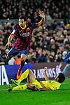 2013-12-14-FC Barcelona vs Villarreal CF: 2-1.