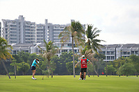 SINGAPORE - MARCH 02: Georgia Hall of England on the 2nd fairway during the third round of the HSBC Women's World Championship 2019 at Sentosa Golf Club - Tanjong Course, Singapore on March 02, 2019.<br /> .<br /> .<br /> .<br /> (Photo by: Naratip Golf Srisupab/SEALs Sports Images)<br /> .<br /> Any image use must include a mandatory credit line adjacent to the content which should read: Naratip Golf Srisupab/SEALs Sports Images