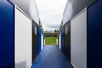 A general view in the tunnel. Gallagher Premiership match, between Bath Rugby and Gloucester Rugby on September 8, 2018 at the Recreation Ground in Bath, England. Photo by: Patrick Khachfe / Onside Images