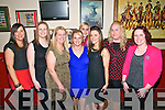 30th Birthday : Sarah Breen, Listowel celebrating her 30th birthday with friends at Eabha Joan's Restaurant, Listowel on Saturday  night last. L- R: Sheena Collins, jenny Keane, Mary Walsh, Sarah Breen, Gemma Collins, Marcella Stackpoole, Sarah O'Connor & Marie Carty.