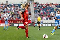 Bridgeview, IL - Saturday August 12, 2017: Amandine Henry during a regular season National Women's Soccer League (NWSL) match between the Chicago Red Stars and the Portland Thorns FC at Toyota Park. Portland won 3-2.