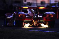 DAYTONA BEACH, FL - FEBRUARY 5: The MOMO Ferrari 333 SP of Gianpiero Moretti, Didier Theys, Eliseo Salazar and Wayne Taylor is driven during the 24 Hours of Daytona IMSA GT race at the Daytona International Speedway in Daytona Beach, Florida, on February 5, 1995.