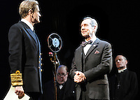 London - Jonathan Hyde and Charles Edwards -  'The King's Speech' photocall at Wyndham's Theatre, London - March 26th 2012..Photo by Bob Kent.