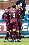 Queen of the South v St Johnstone&hellip;18.08.18&hellip;  Palmerston    BetFred Cup<br />Tony Watt celebrates his goal<br />Picture by Graeme Hart. <br />Copyright Perthshire Picture Agency<br />Tel: 01738 623350  Mobile: 07990 594431