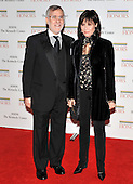 Washington, DC - December 5, 2009 -- Fred Rappoport and his wife, Michelle Lee, arrive for the formal Artist's Dinner at the United States Department of State in Washington, D.C. on Saturday, December 5, 2009..Credit: Ron Sachs / CNP.(RESTRICTION: NO New York or New Jersey Newspapers or newspapers within a 75 mile radius of New York City)