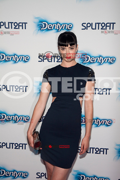 Krysten Ritter hosts a Dentyne Spilt2Fit Summer Night Out at Hudson Terrace in New York City.  June 28, 2012.  &copy; Laura Trevino/Media Punch Inc. */NORTEPHOTO.COM*<br />