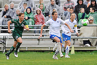 Kelly Smith (white), Lori Chalupny...Saint Louis Athletica  tied 1-1 with Boston Breakers at Anheuser-Busch Soccer Park, Fenton, MO.