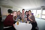 Celebrity Golf @ Golf Live.L-R: Eleanor Williams, Alex Bolton, Emma Cahill, Karen Doyle and Helen Pryse..Celtic Manor Resort.12.05.13.©Steve Pope