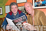 Keane connection: Getting the first read of the 9th Lyreacrompane and District Journal which features John B Keane's close connection with the parish and will be launched by Billy Keane at Roche's Bar in Lyreacrompane on Friday, December 5 was Billy with editor Joe Harrington.   Copyright Kerry's Eye 2008