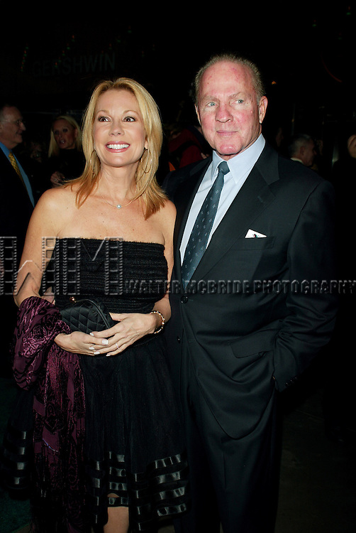 Kathie Lee Gifford and Frank Gifford<br /> Attending the Opening Night of the New Broadway Musical, WICKED ( The Untold Story of the Witches <br /> Of Oz ), at the Gershwin Theatre in New York City.<br /> October 30, 2003